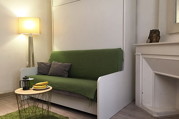 Lyon Furnished Studio Rental Fully Equipped With Internet